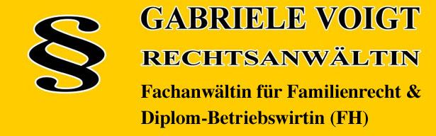 Rechtsanwältin Gabriele Voigt